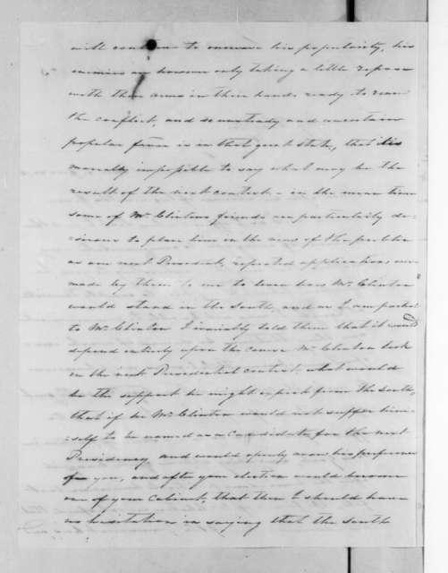 Charles Pendleton Tutt to Andrew Jackson, June 1, 1825