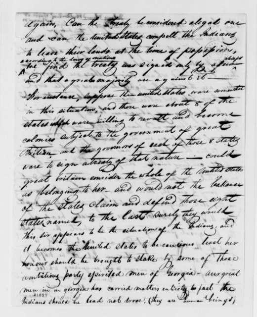 Edward Delany to Thomas Jefferson, May 23, 1825