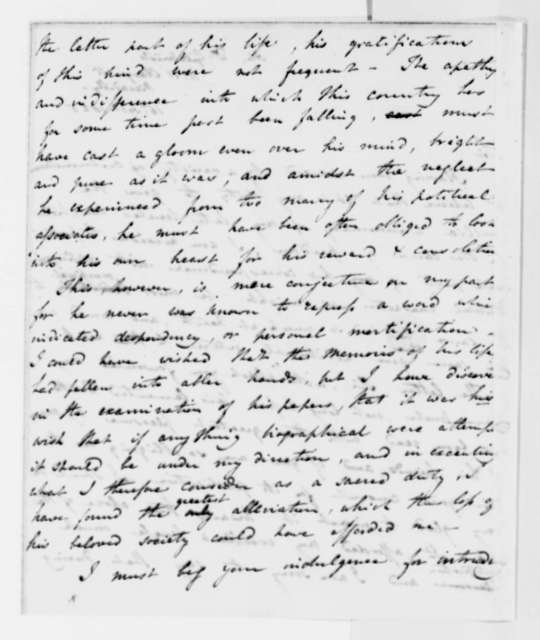 Frances D. Cartwright to Thomas Jefferson, February 16, 1825