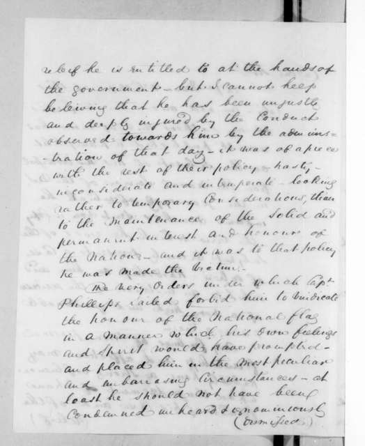 George Winchester to Andrew Jackson, December 21, 1825