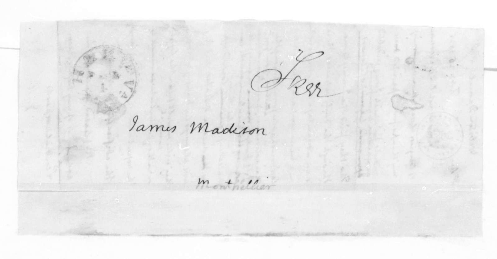 James Madison to Daniel Webster, February 25, 1825.