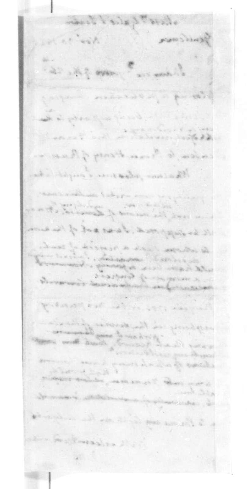 James Madison to Gales & Seaton, November 30, 1825.