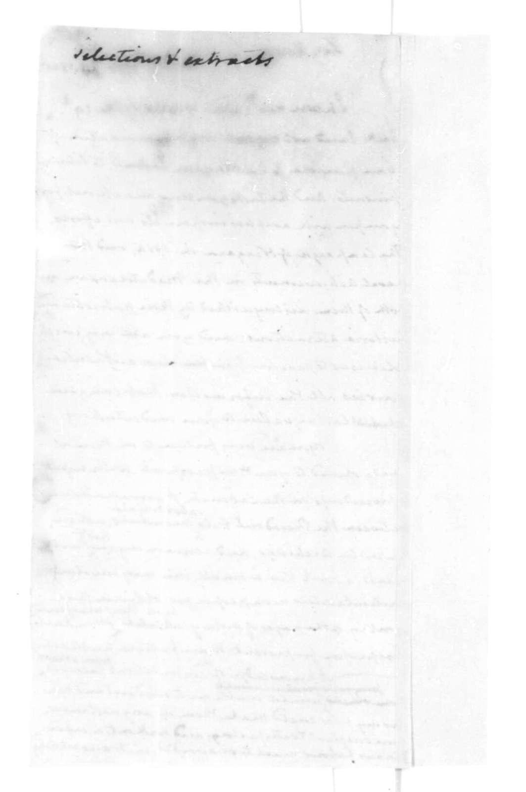 James Madison to Henry Lee, November 29, 1825.