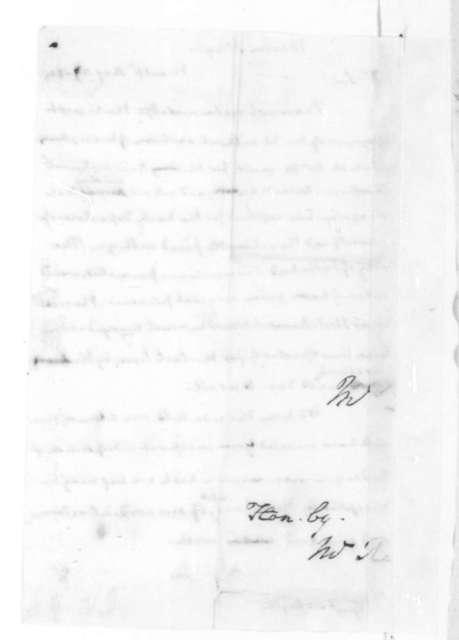 James Madison to Hugh Mercer, August 26, 1825.