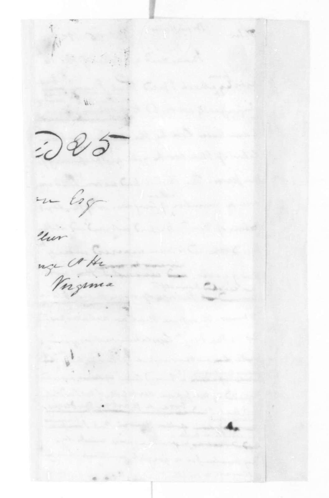 James Madison to John Brennan, September 26, 1825.