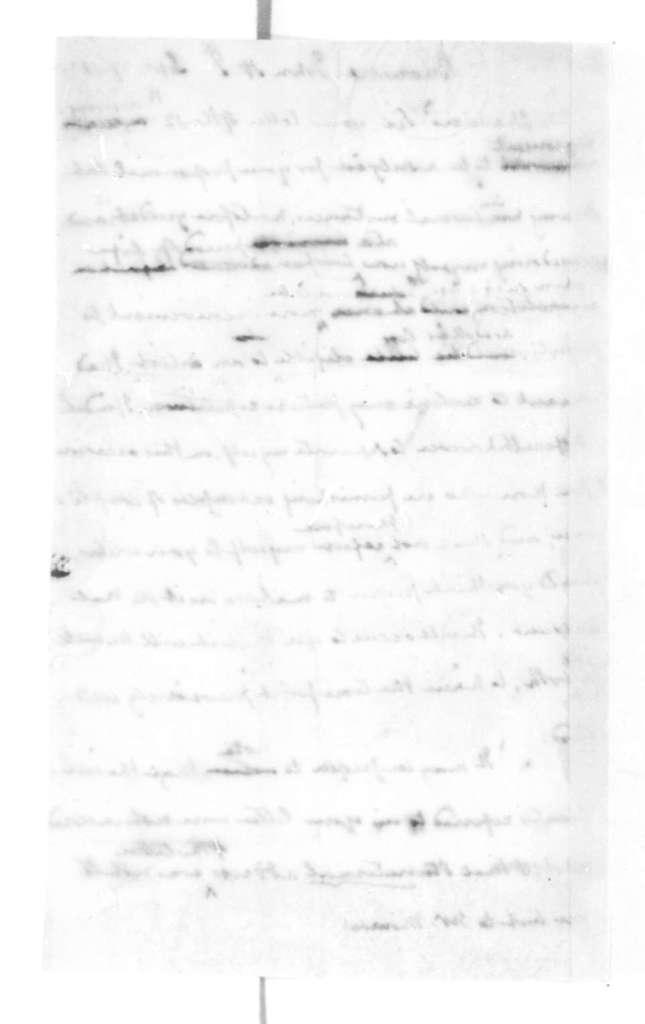 James Madison to John H. J. Browere, September 17, 1825.