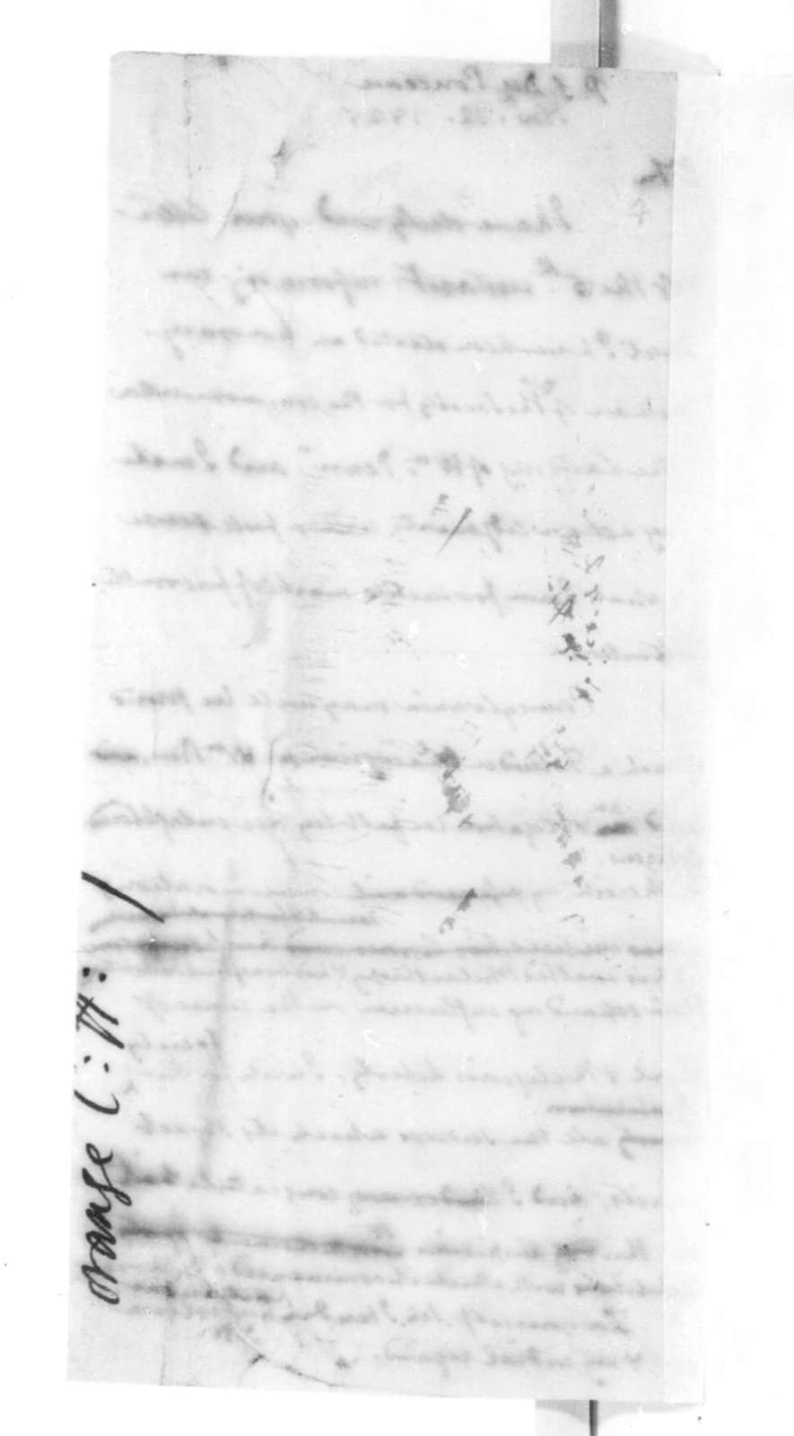 James Madison to Peter S. Duponceau, November 12, 1825.