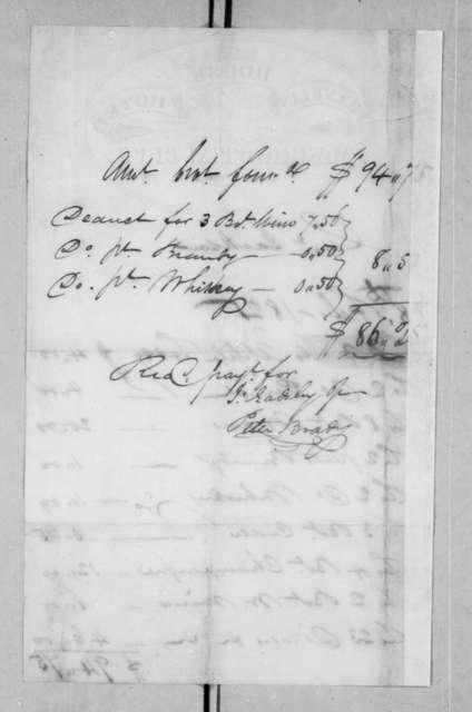 John Gadsby Jr. to Andrew Jackson, February 18, 1825