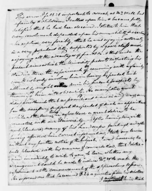 John Patten Emmet to Thomas Jefferson, December 25, 1825