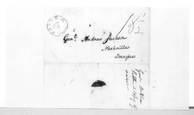 Joseph Desha to Andrew Jackson, June 8, 1825