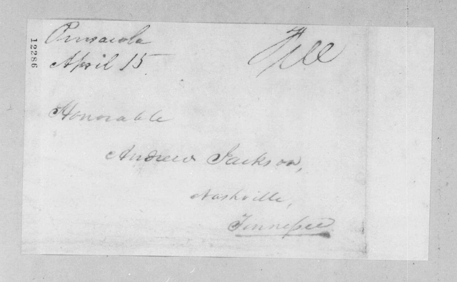 Joseph Philips et al. to Andrew Jackson, April 14, 1825