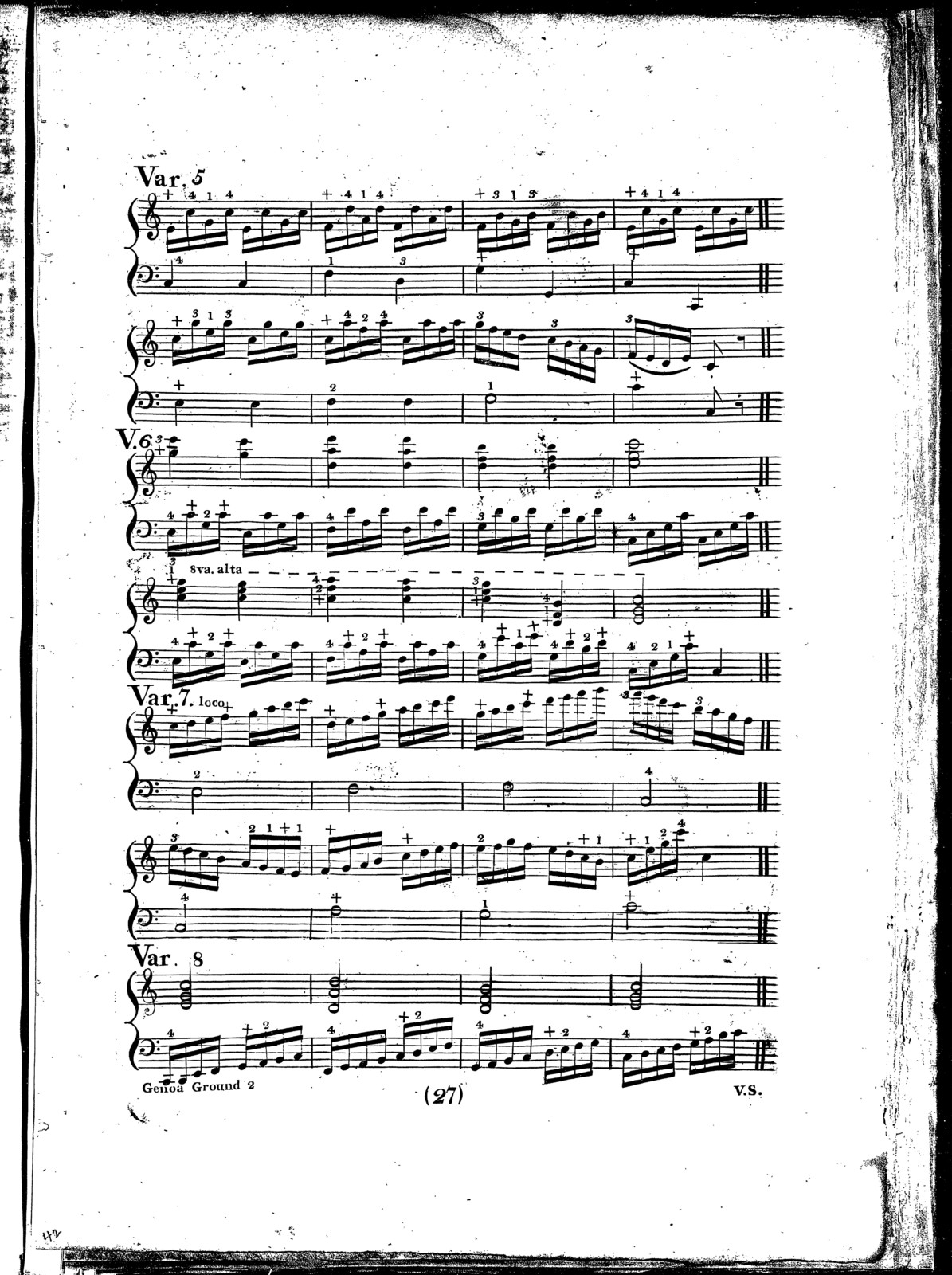 Le  Clavecin: a collection of sonatas, rondos, marches, waltzes, and airs with variations, &c