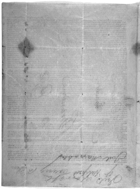 [Letter of Jos. Gist to his constituents in South Carolina] Washington City, February 21st, 1825.