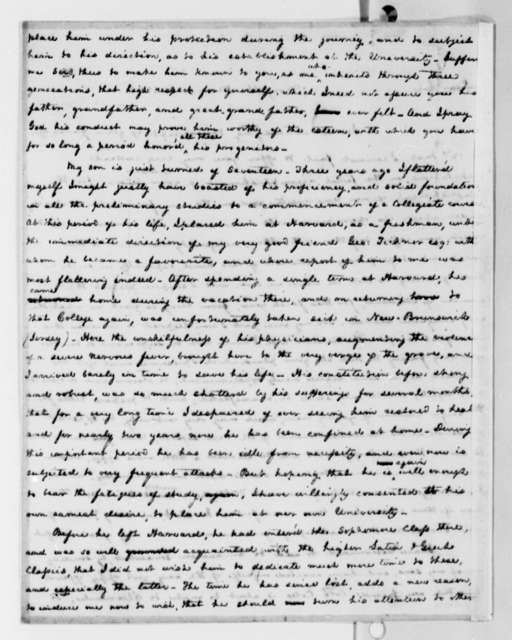 Littleton Waller Tazewell to Thomas Jefferson, March 31, 1825