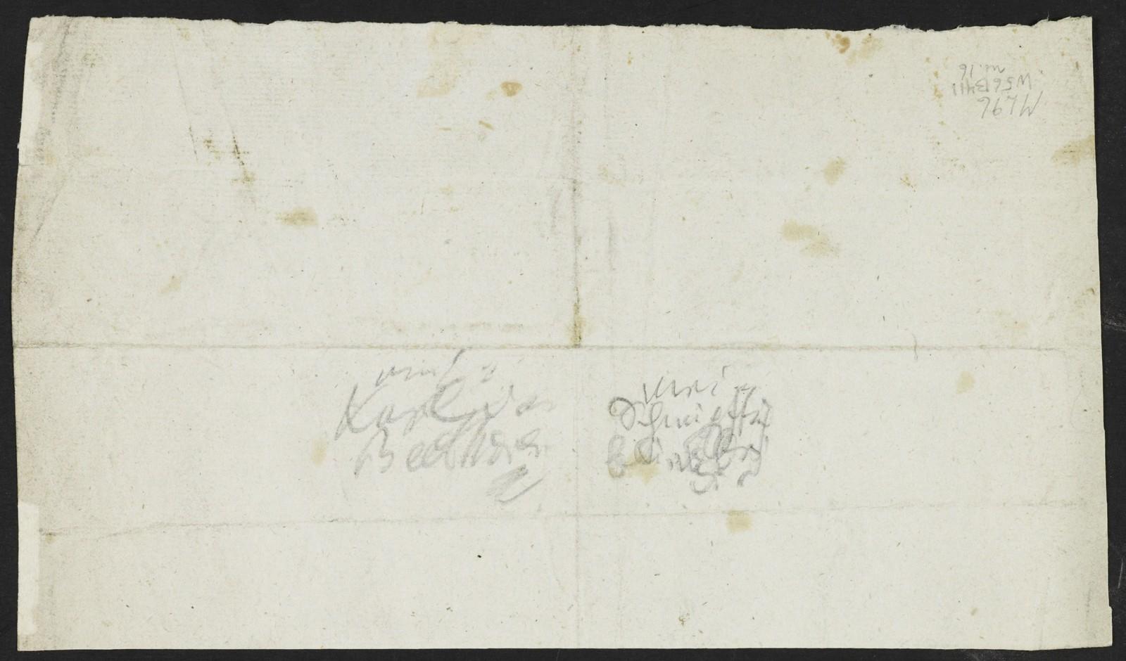 Ludwig van Beethoven autograph letter to Karl van Beethoven, [1825] Aug. 31