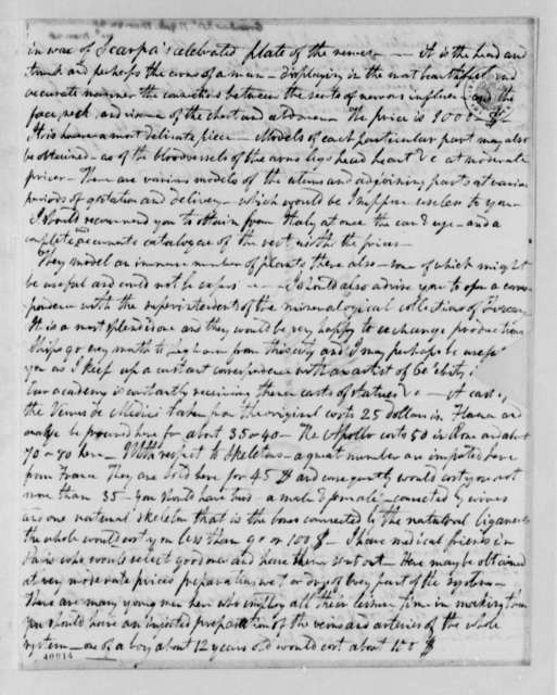 Robert Greenhow to Thomas Jefferson, March 22, 1825