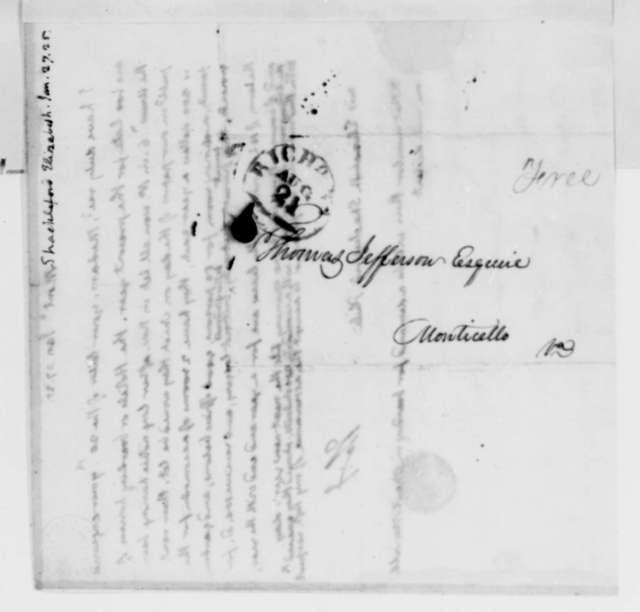 Thomas Jefferson to Elizabeth Shackelford, January 27, 1825