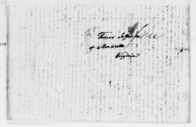 Thomas Jefferson to Francis A. van der Kemp, January 11, 1825