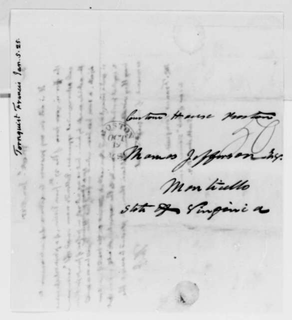 Thomas Jefferson to Francis Tornquist, January 5, 1825