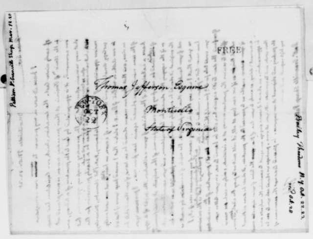 Thomas Jefferson to Granville Sharp Pattison, March 12, 1825