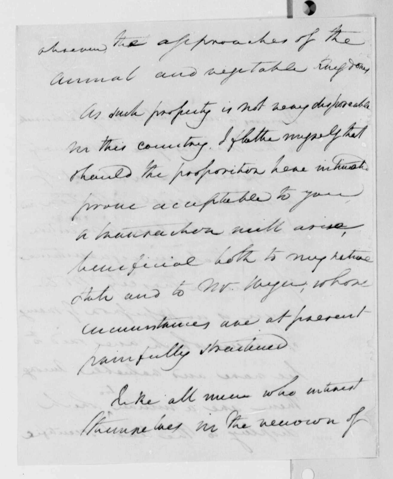 Thomas Jefferson to Henry Lee, Jr., April 29, 1825