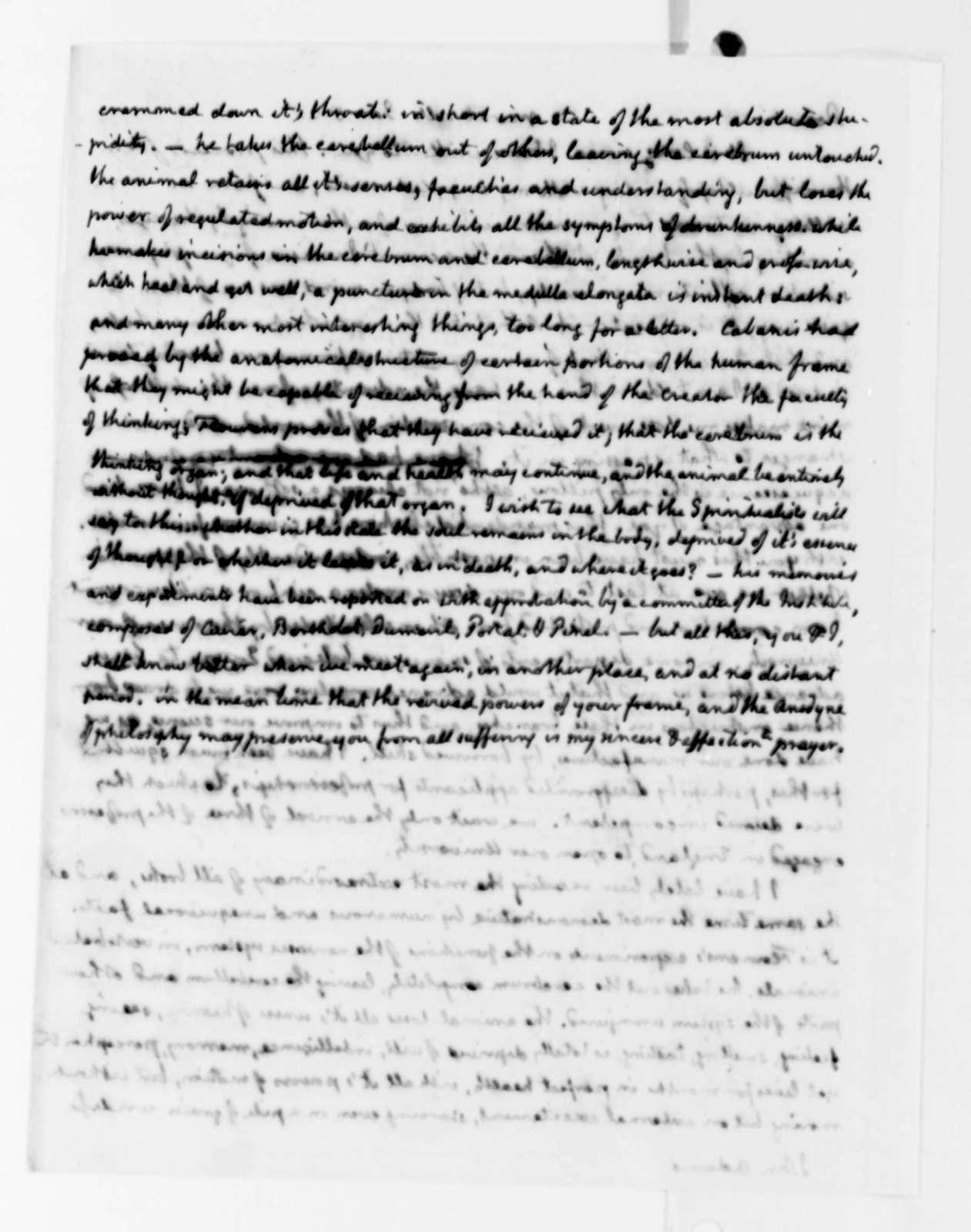 Thomas Jefferson to John Adams, January 8, 1825