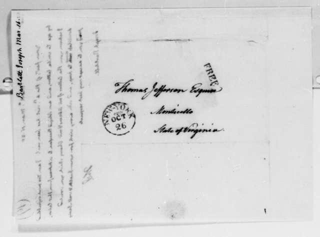 Thomas Jefferson to Joseph Bartlett, March 16, 1825