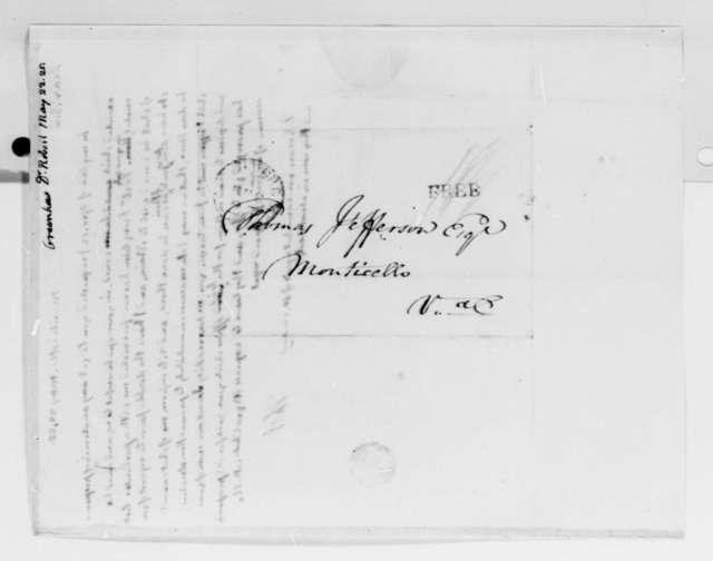 Thomas Jefferson to Robert Greenhow, May 22, 1825