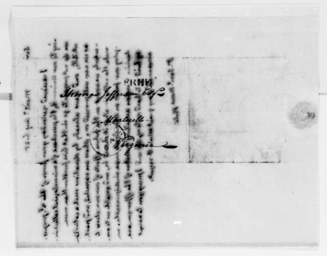 Thomas Jefferson to Samuel Moore, August 6, 1825
