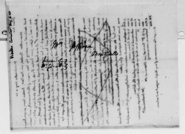 Thomas Jefferson to University of Virginia Board of Visitors, August 4, 1825, Circular