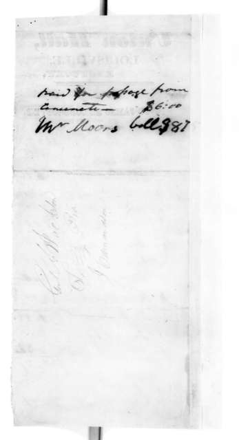 to Andrew Jackson, March 4, 1825