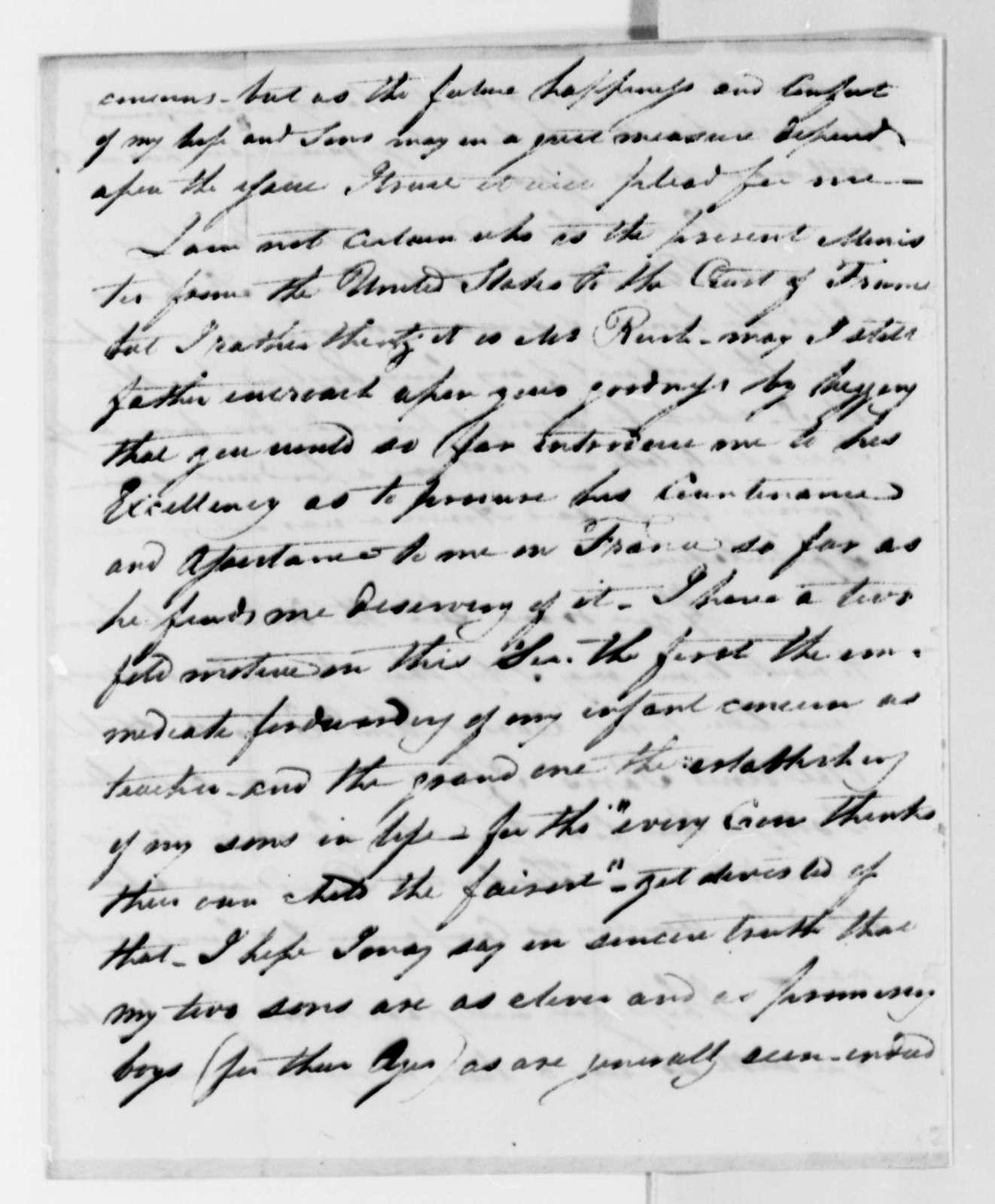 William Dorsey to Thomas Jefferson, October 7, 1825