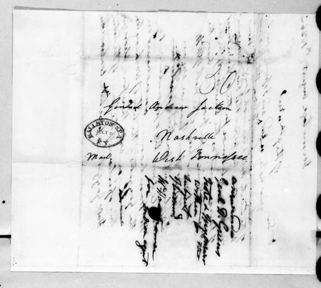 Andrew Jackson to Duff Green, August 9, 1826