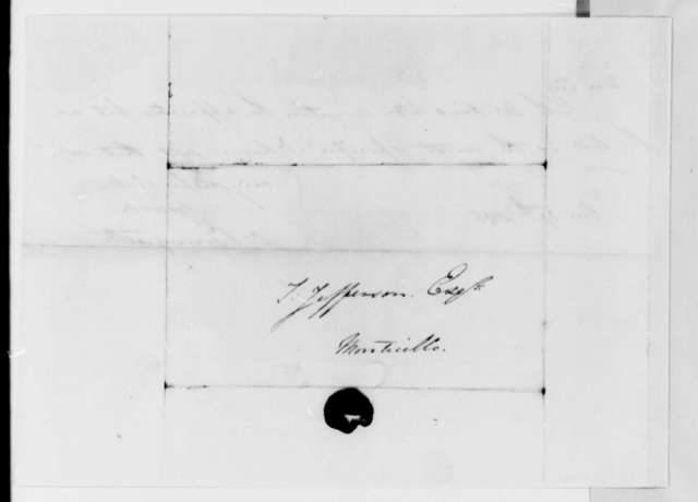 Charles Bonnycastle to Thomas Jefferson, March 27, 1826