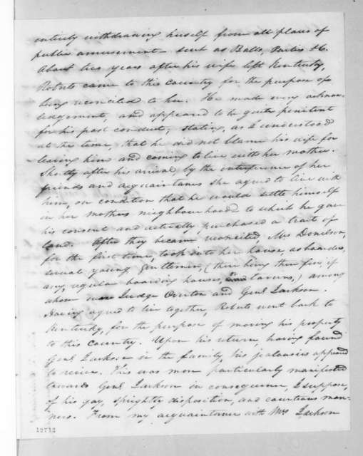 Elizabeth Craighead, December 5, 1826