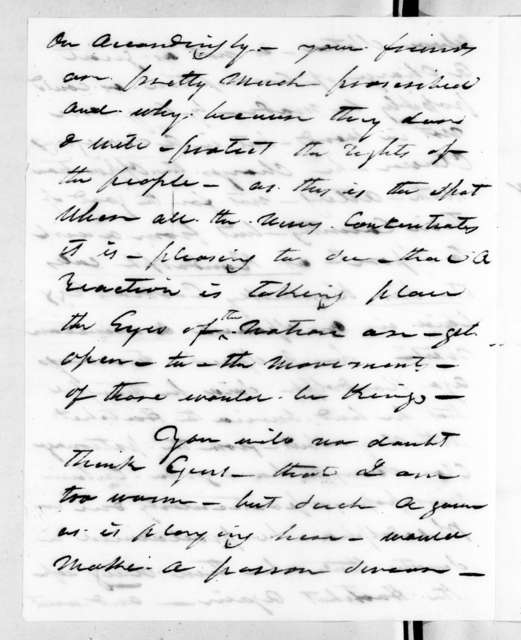 Francis Wells Armstrong to Andrew Jackson, May 7, 1826