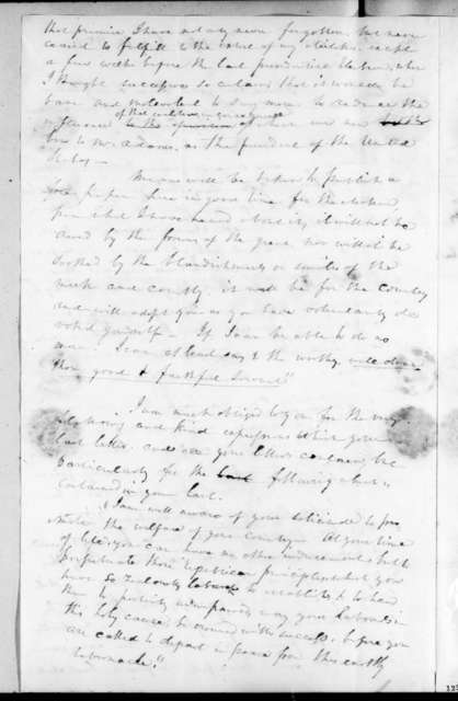 Henry Banks to Andrew Jackson, July 10, 1826