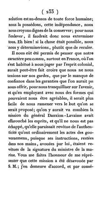 Précis historique des négociations entre la France et Saint-Domingue; suivi de pièces justificatives, et d'une notice biographique sur le général Boyer, président de la république d'Haiti.