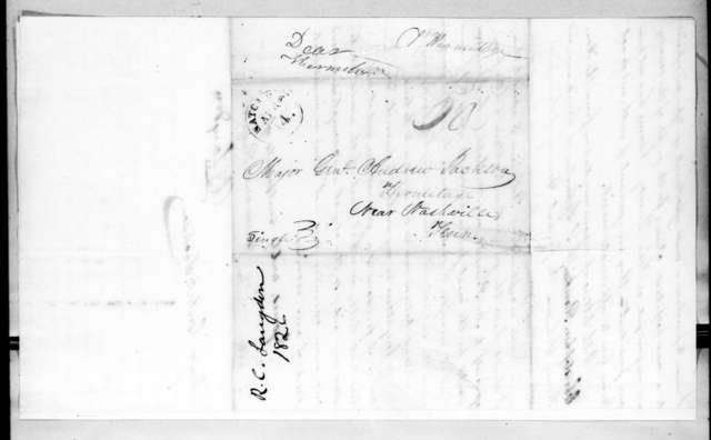 Richard Chester Langdon to Andrew Jackson, April 12, 1826