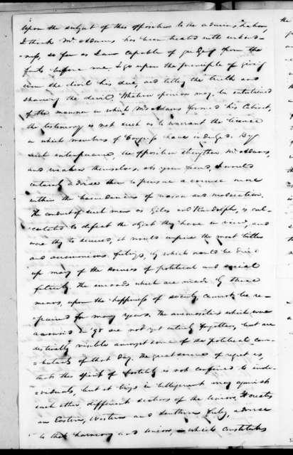 Samuel Ragland Overton to Andrew Jackson, July 5, 1826