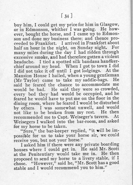 The confession of Jereboam O. Beauchamp : who was hanged at Frankfort, Ky., on the 7th day of July, 1826, for the murder of Col. Solomon P. Sharp