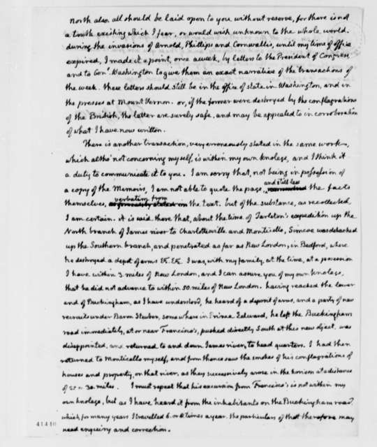 Thomas Jefferson to Henry Lee, Jr., May 15, 1826