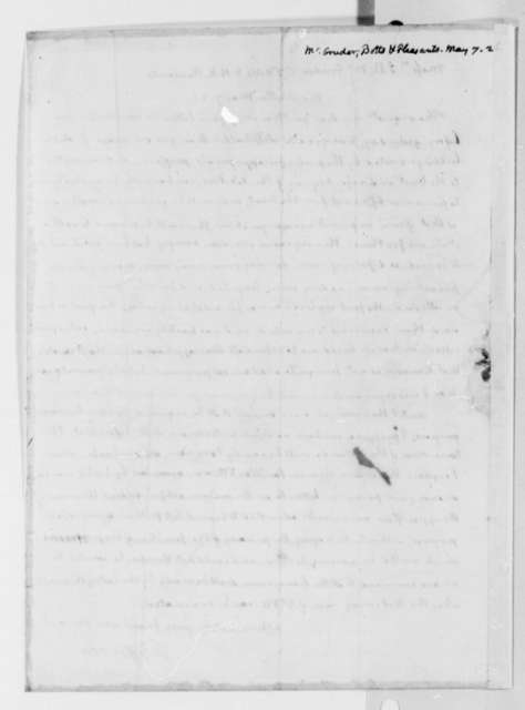 Thomas Jefferson to J. B. McGruder, C. F. Botts, and H. R. Pleasants, May 7, 1826