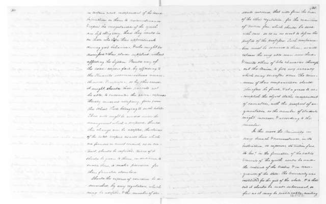 Virginia University Faculty, December 16, 1826. Form of Government, Report and Notes by James Madison.