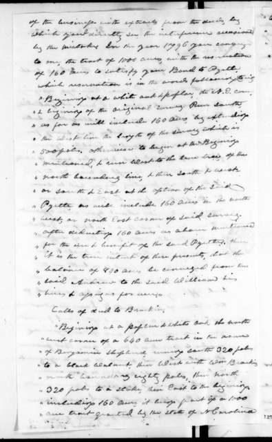 William Martin to Andrew Jackson, March 23, 1826