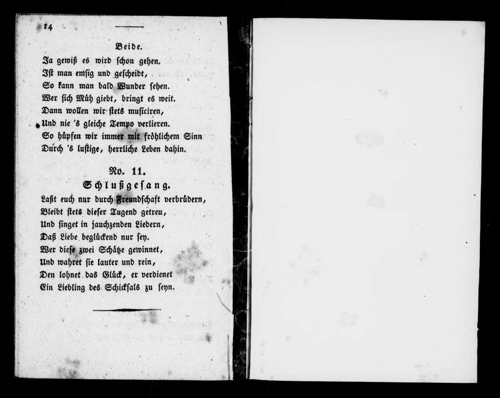 Ydor der Wanderer. Libretto. Libretto. German