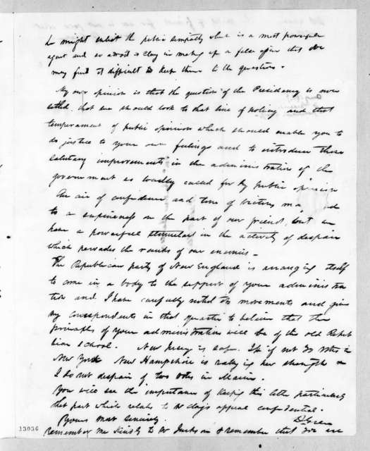 Duff Green to Andrew Jackson, August 29, 1827