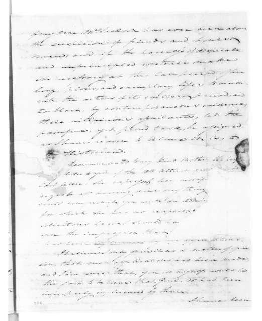 Edward George Washington Butler to Andrew Jackson, January 11, 1827