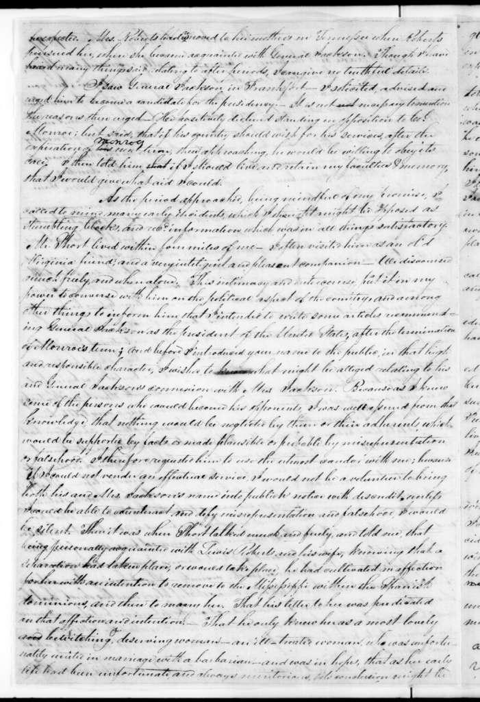 Henry Banks to John Overton, May 10, 1827