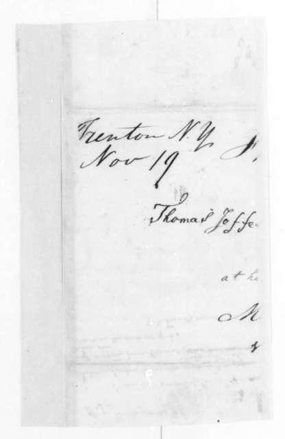 James Madison to Arthur Spicer Brockenbrough, November 24, 1827.